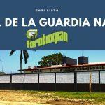CASI LISTO EL CUARTEL DE LA GUARDIA NACIONAL